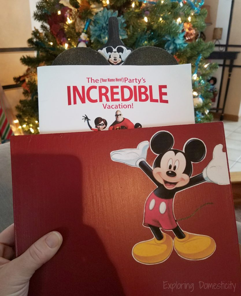 Gift Experiences - gifting a Disney Vacation!