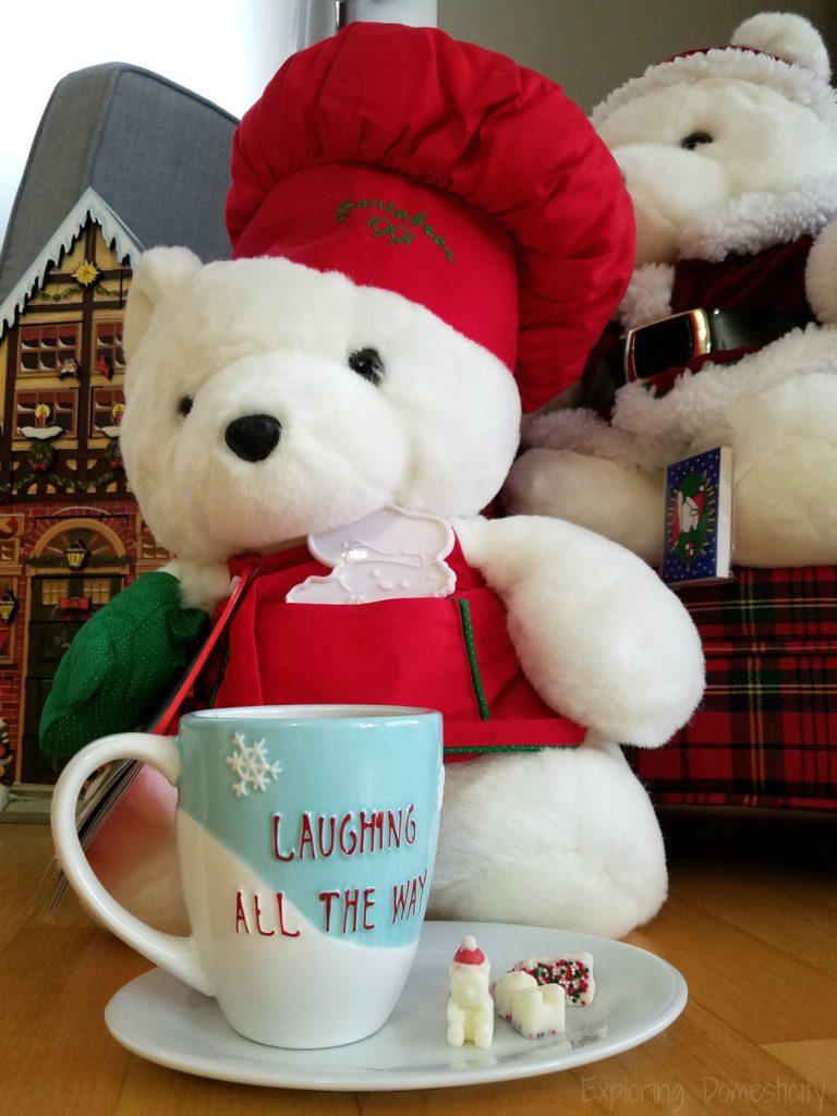 Santa Bear Hot Chocolate Melts and a Santabear