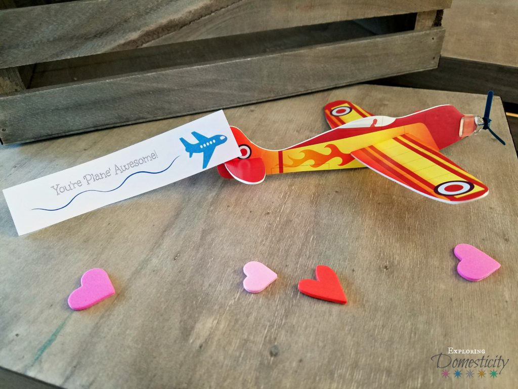 Airplane Valentines - You're 'Plane' Awesome!