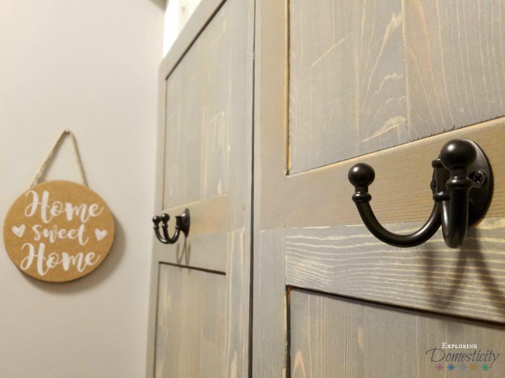 Mudroom Built In Cubbies Hooks - Home Sweet Home
