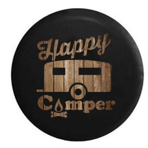 Happy Camper Spare Tire Cover