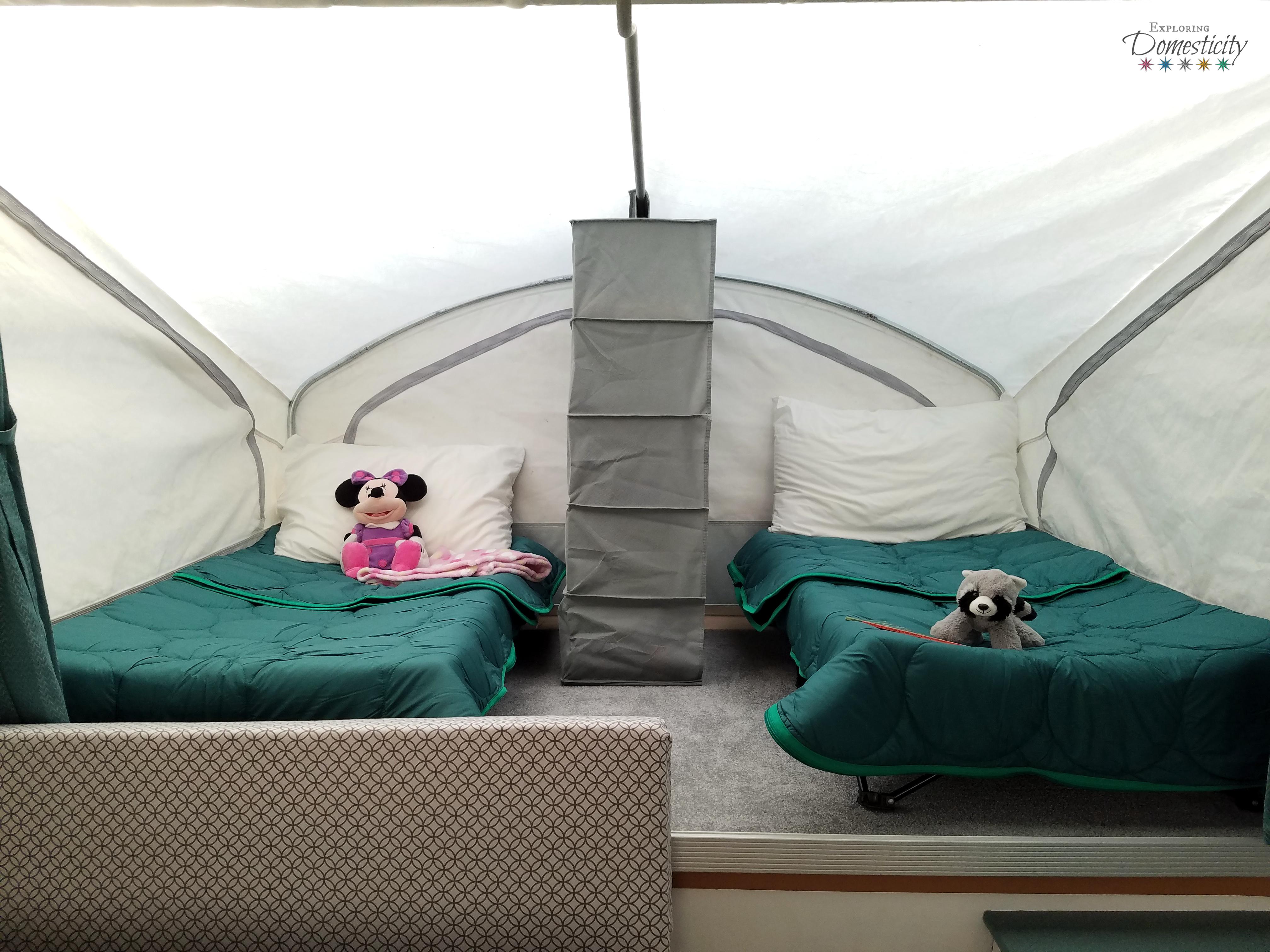 Pop Up Camper Sleeping How To Sleep Two Kids In One Bunk