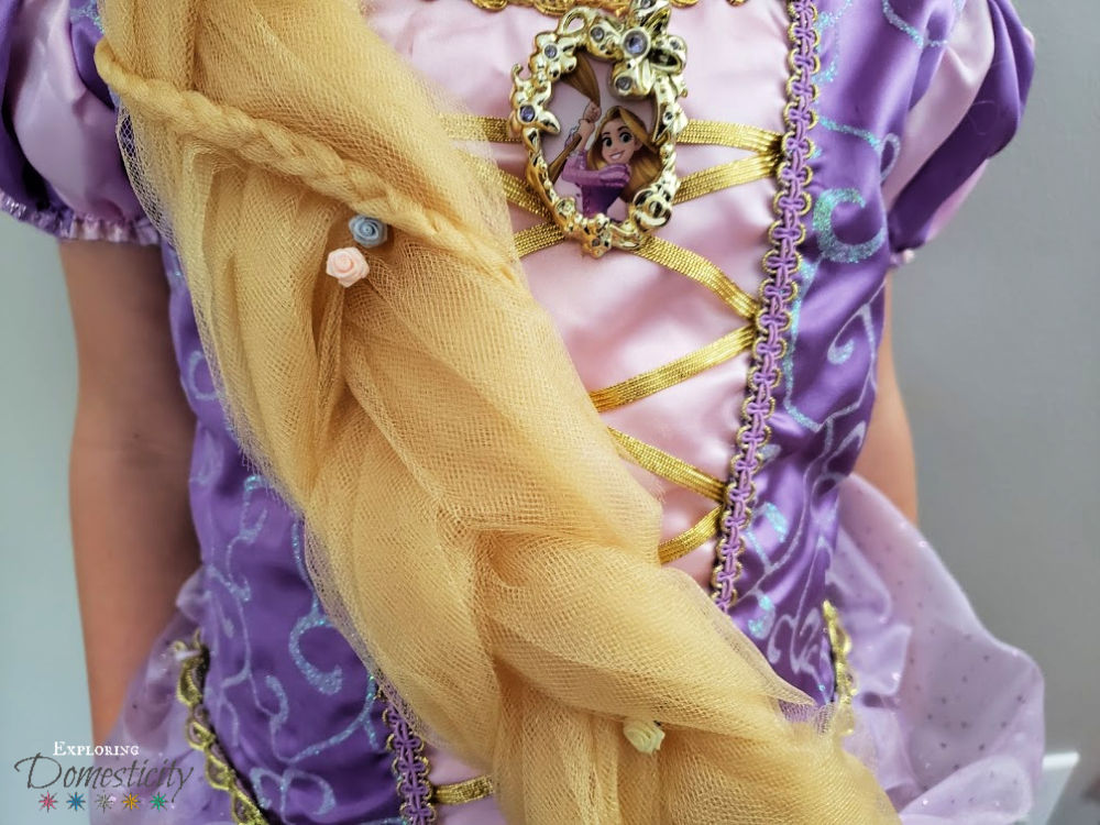 Rapunzel Hair Diy Lightweight And Inexpensive Exploring Domesticity