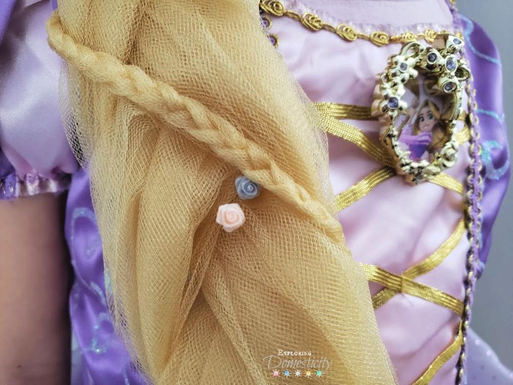 Rapunzel Hair DIY: Lightweight and inexpensive ...